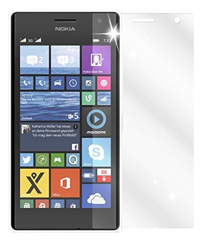 dipos I 6X Schutzfolie klar kompatibel mit Nokia Lumia 730/735 Folie Bildschirmschutzfolie