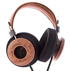 4OurEars is the only Grado Authorized Amazon Reseller Uses 50mm dynamic transducers and the new 12 conductor cable design Hand-crafted mahogany earpieces Warm harmonic colors, rich full bodied vocals, excellent dynamics, and an ultra-smooth top end M...