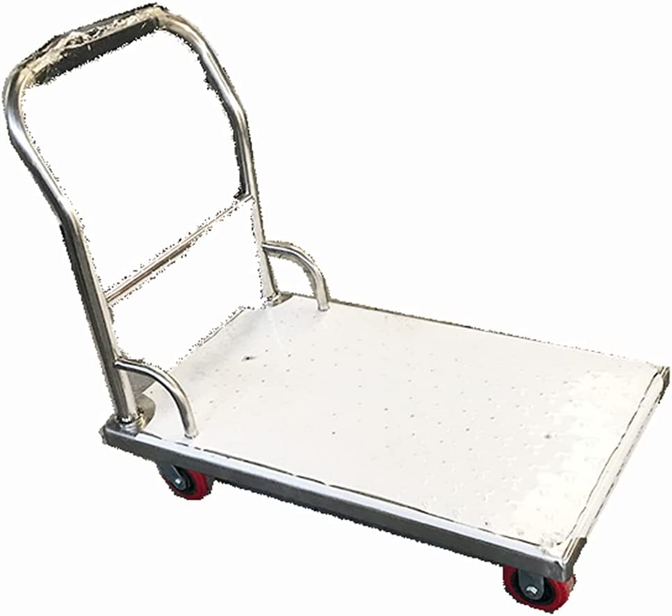 Stainless Steel Flatbed Truck Household Cart Popular products Portable New product! New type Mob Tool