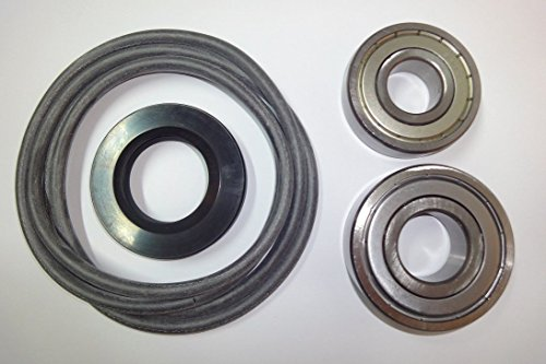 Blaufaust Trommellager Kugellager Lagersatz Reparatursatz passend zu AEG Lavamat Waschmaschine Lav 74800 6305 6306 ZZ 40,2x72x10/13,5