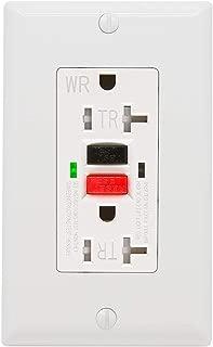 20 amp tamper resistant gfci