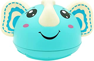 Licogel Spray Water Toy Elephant Electric Light up Music LED Rotatable Bath Shower Toy Plastic Creative Smooth Cute
