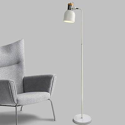 DXX-HR Led Creative Nordic Moderne Simple Lampadaire, Lampes de lecture Salon Canapé-sol Lumière Bureau d'étude Vertical Lumières Eye-Caring vertical étage Lumière