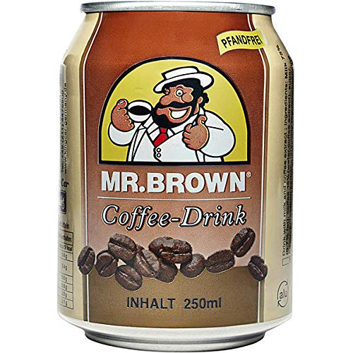 Mr Brown Coffee, 24 er Pack, 24 x 250 ml