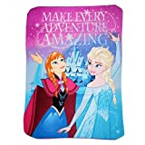 SOFT & COMFY FLEECE THROW FOR KIDS – Make your child feel a little more comfortable and warmer when reading them their favorite bedtime stories with these fleece throw blankets. This comforter will let the kids feel more secure and safe which is a gr...