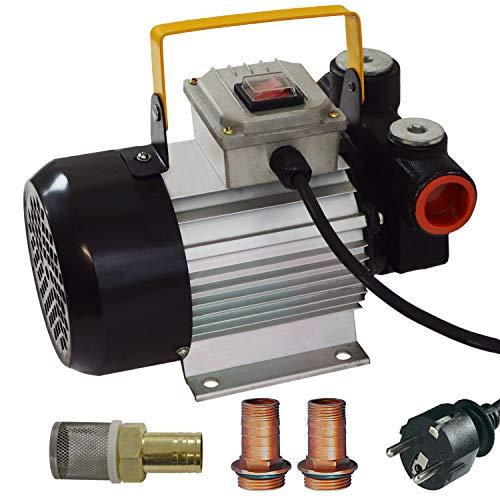 DIESELPUMPE HEIZÖLPUMPE ÖLPUMPE Biodiesel SELBSTANSAUGEND Diesel Set STANDARD-4 ELEKTRISCHE 230V DIESELPUMPE Leistungsstarker MOTOR (Pumpe Standard-4)