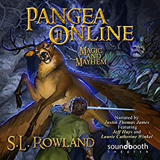 Pangea Online 2: Magic and Mayhem audiobook cover art