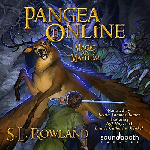 Pangea Online 2: Magic and Mayhem                   By:                                                                                                                                 S.L. Rowland                               Narrated by:                                                                                                                                 Laurie Catherine Winkel,                                                                                        Justin Thomas James,                                                                                        Jeff Hays                      Length: 7 hrs and 7 mins     5 ratings     Overall 3.8