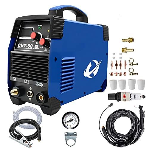 CUT50 IGBT Plasmaschneider Mit 50 Ampere, Bis 20mm Schneidleistung,230V ±15{c2494dd0364bc25cea5e1d493b4197ec13cdf7542704825570b23746900a5bbd} Plasma Schneide Schweißgerät Plasma Ausschnitt Maschine Plasmaschneider Cutting Cutter