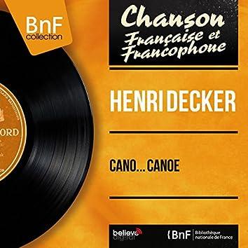Cano... canoë (feat. André Popp et son orchestre) [Mono Version]