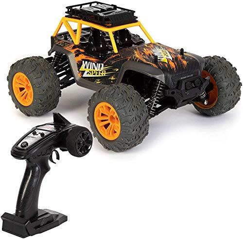 Liiokiy Control Remoto Coche Off Road Dirt Buggy 4 Ruega Drive RC Coche Monster Car Racer 36 km/h Velocidad 1:14 Escala de 2.4GHz Coche de Alta Velocidad para niños y Adultos Niños Niños Niños Regal