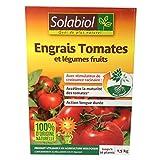 Engrais tomates et légumes fruits 1,5Kg Solabiol