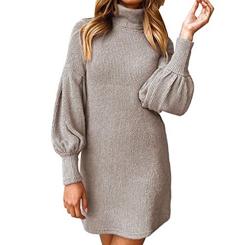 GESD Suéter de Mujer de Talla Grande suéter de Punto