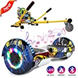 GeekMe Patinete Eléctrico Auto Equilibrio con Hoverkart, Hover Scooter Board, Balance Board +...