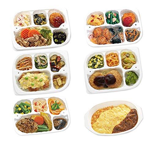 【冷凍】低たんぱくお弁当 いきいき御膳 人気ベスト6セット(6点セット)