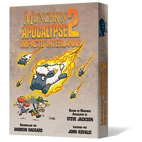 Edge Entertainment EESJMA02 Munchkin Apocalypse 2: Impacto Interlanar