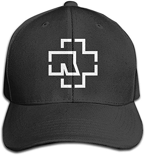 SHWPAKFA Wokeyia Customized Duck Tongue Cap Wild BaseballHAT for Women's Sports Ram_ms_te_in Black,Black,One Size
