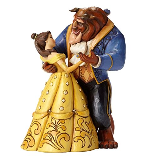 Disney Tradition Moonlight Waltz (Belle & Beast Dancing Couple 25th Anniversary Figur)