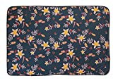 Coalatree Beach Kachula Adventure Blanket V2- Packable, Multi-use Blanket Ideal for Traveling, Camping and Urban Use Blanket, Navy Wildflower