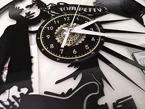 hhhjjj Un Reloj de Pared de Vinilo mágico Que conmemora los Regalos de decoración de Dormitorio de Arte de Las Mujeres