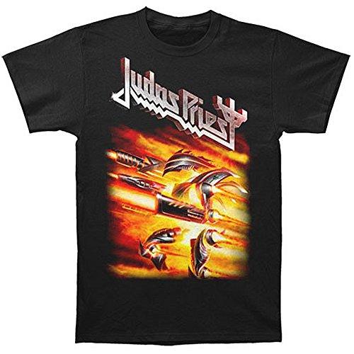 GLOBAL Herren T-Shirt Judas Priest Firepower - Schwarz - Klein