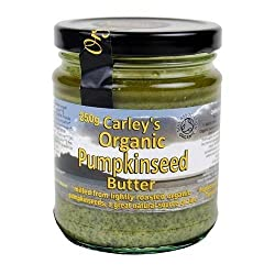 Made from raw organic pumpkin seeds and cols pressured organic pumpkinseed oil Can be stored without refrigeration until they are opened Made from produce of local organic growers Premium pumpkin seed butter