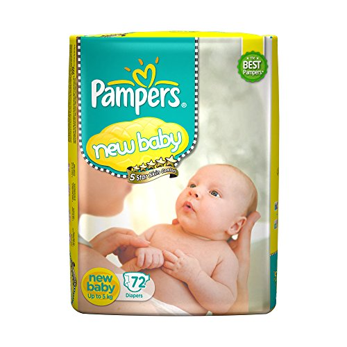 Pampers Active Baby New Born Diapers Product Image