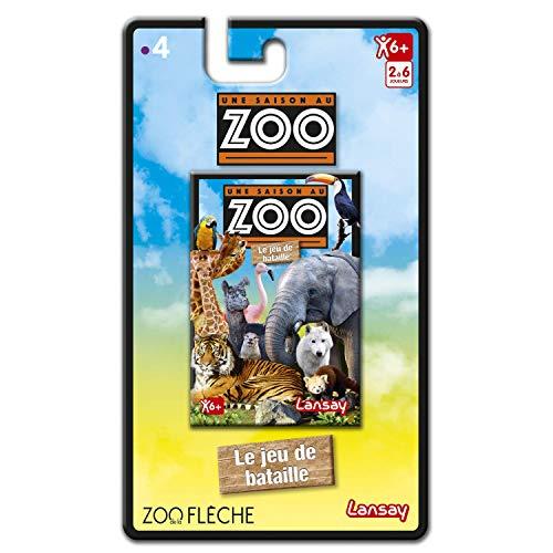 Lansay-Une Saison au Zoo-Jeu de Cartes, 75121