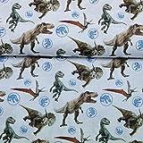 Doppelmoppel Lizenstoff Jurassic Park Bio Baumwollstoff