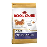 It satisfies the Chihuahua's appetite thanks to the combination of three factors: an adapted kibble size and shape, an exclusive formulation and selected flavours.
