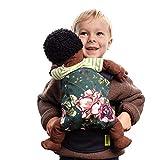 Boba - Mini portador de muñecas adorable para tu niño o niña (flores de...