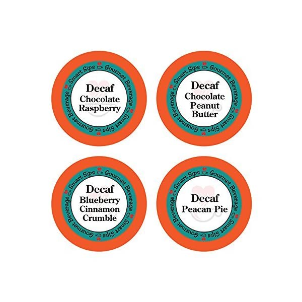 Decaf Flavored Coffee Pods, 24 Count, Keurig Compatible