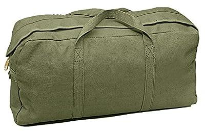 Rothco Canvas Tanker Style Tool Bag, Green