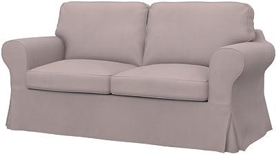 Soferia - IKEA EKTORP Funda para sofá de 2 plazas, Eco Leather ...