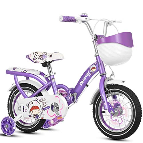 WZLJW Lquide niños Bicicleta niña de Bicicletas Boy Bicicleta Plegable Bicicletas 3-6 años de Edad YCLIN ggsm (Color : 16in 2)