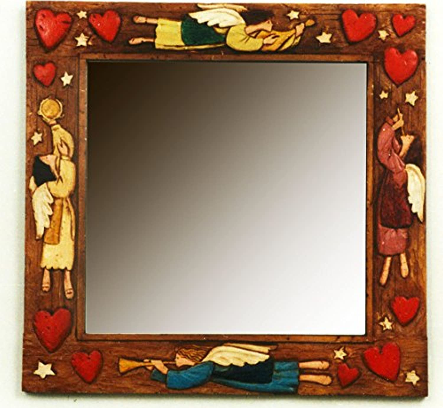 Piazza Pisano Angel Country Wall Mirror