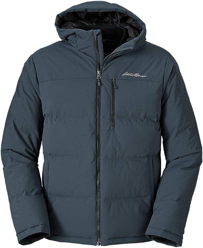 Eddie Bauer Men's Glacier Peak Seamless Stretch Down Hooded Jacket