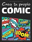 Crea tu propio cómic: 100 páginas de láminas de cómic en