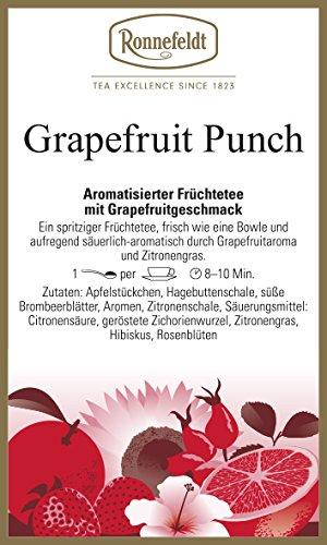 Ronnefeldt - Grapefruit Punch - Aromatisierter Früchtetee - 100g