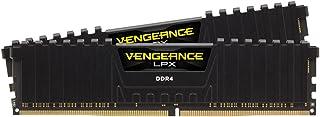 CORSAIR DDR4-3600MHz デスクトップPC用 メモリモジュール VENGEANCE LPX シリーズ 16GB [8GB×2枚] ブラック CMK16GX4M2D3600C18