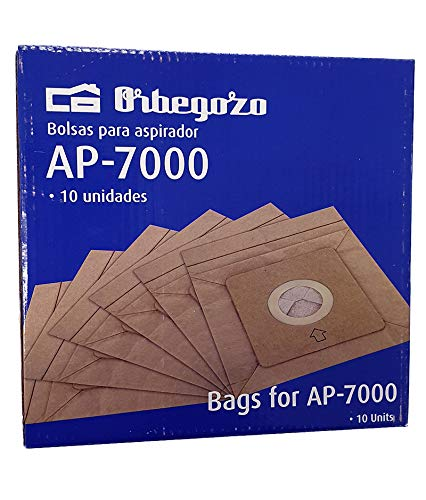 Orbegozo. Bolsas de Aspirador AP7000 (10 Bolsas)