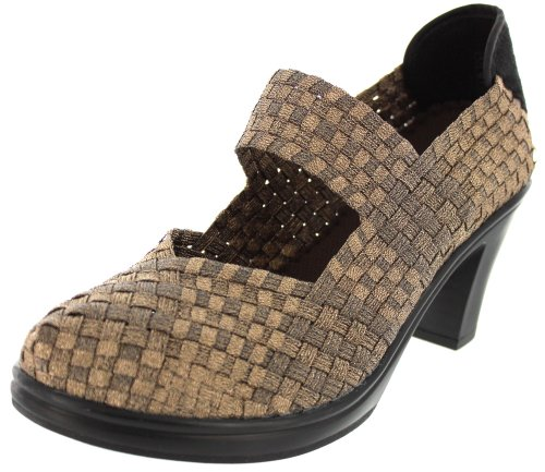 Bernie Mev Womens Bonnie Pumps Shoes,Bronze,38