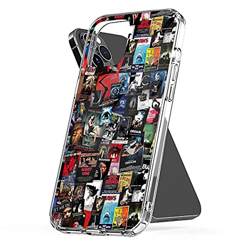 Phone Case Compatible with iPhone Samsung Galaxy 100 8 Best 11 Horror S9 Movies 12 of S21 All 7 Time Mini Collage S10 6 Plus X Xs Xr Pro Max Se 2020 S20 Accessories Waterproof Scratch