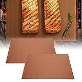 logozoee Estera De Barbacoa, Cojín De Barbacoa 40x33cm 2 Piezas para Exterior para Hogar para Acampar