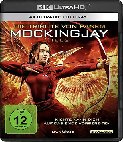 Die Tribute von Panem - Mockingjay 2 (4K Ultra-HD) (+ Blu-ray)