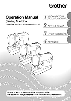 Brother CS5055PRW Sewing Machine Owners Instruction Manual [Plastic Comb] There and Back