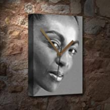 ADJOA ANDOH - Canvas Clock (A5 - Signed by The Artist) #js002