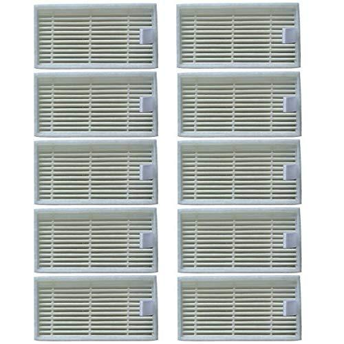 10 Stück Filter für Medion MD 19500/19510/19511/19900 Staubsauger Zubehör
