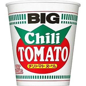 """日清食品 カップヌードル チリトマトヌードル ビッグ 107g×12個"""""""