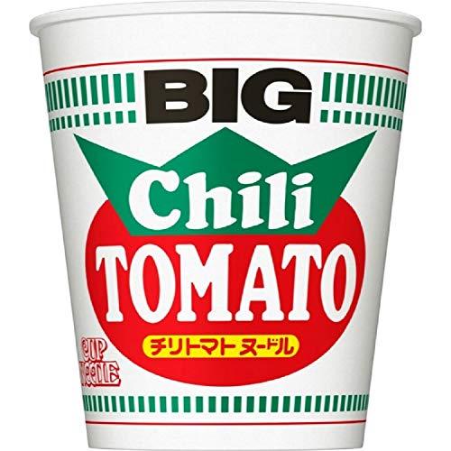 日清食品 カップヌードル チリトマトヌードル ビッグ 107g×12個